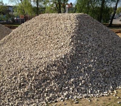 Фото известнякового щебня